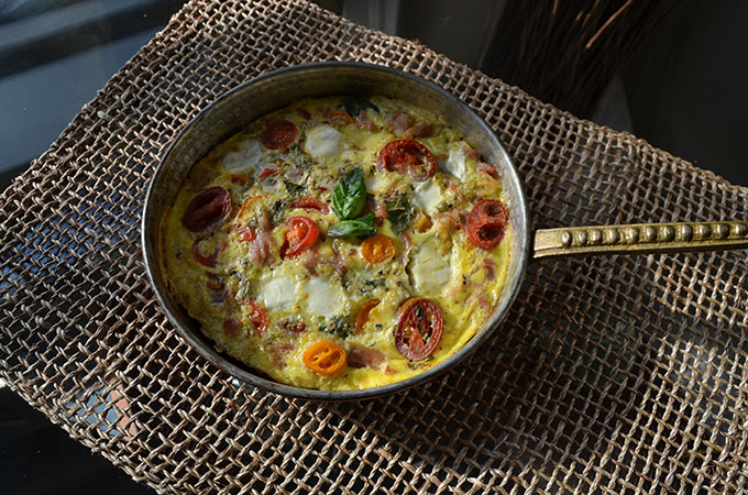 Mozzarella-Tomato-Basil Frittata Recipes — Dishmaps