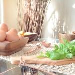 Heirloom Tomato, Basil, Mozzarella + Prosciutto Frittata | StyleChile-7