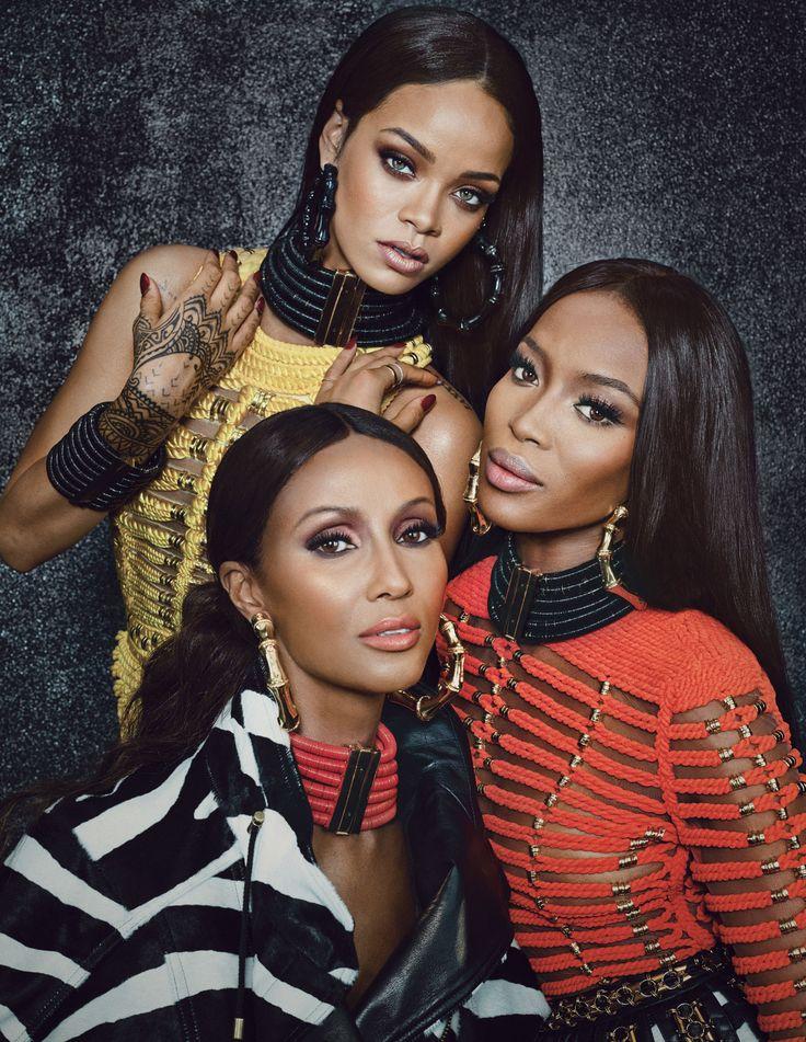 Iman Naomi + Rihanna | StyleChile