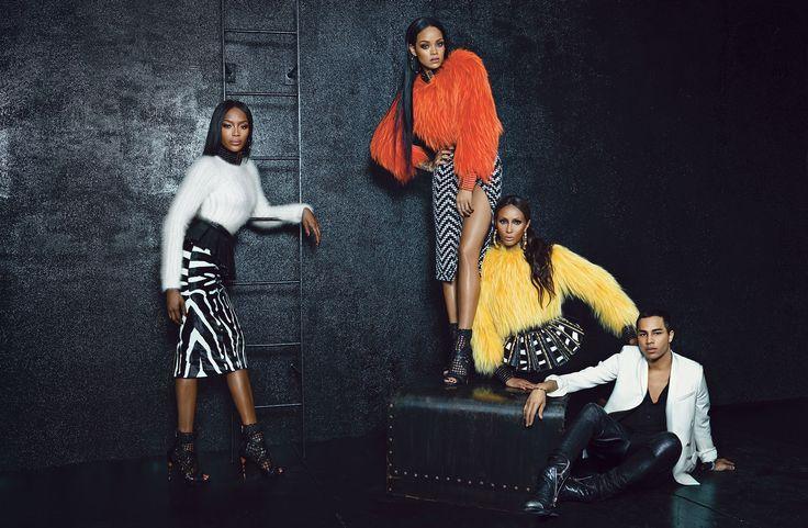 Naomi Iman + Rihanna | StyleChile