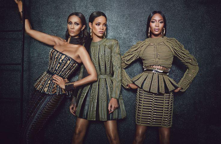 Rihanna Naomi + Iman | StyleChile