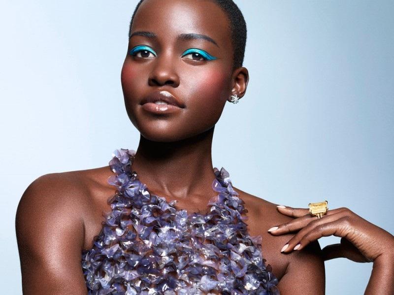 Lupita Nyong'o + Lancome Ad