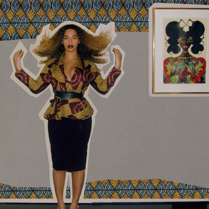 Beyonce + African Print | StyleChile1