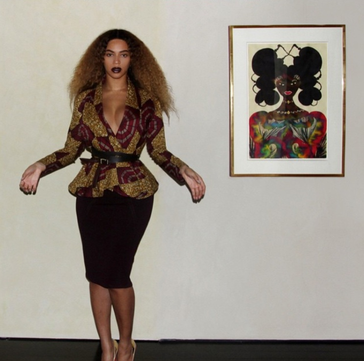 Beyonce + African Print | StyleChile3