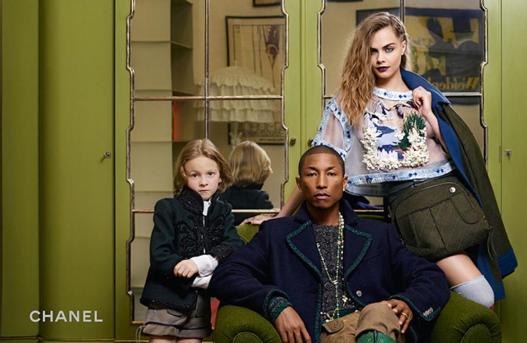 Pharrell + Cara + Chanel | StyleChile2