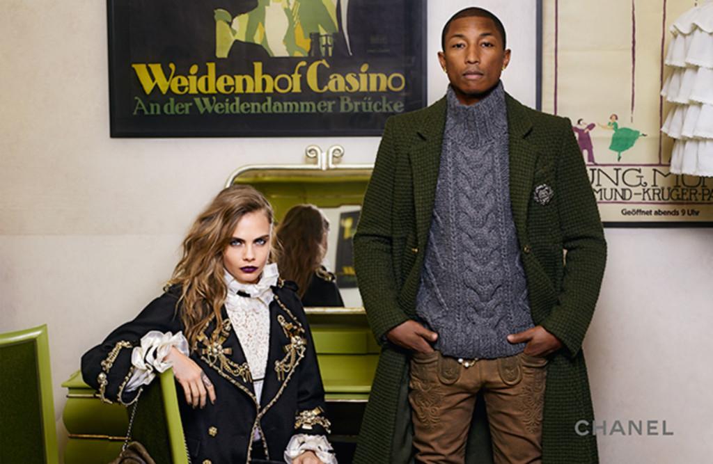 Pharrell + Cara + Chanel | StyleChile3