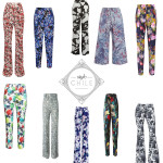 StyleChile | Floral Print Trousers