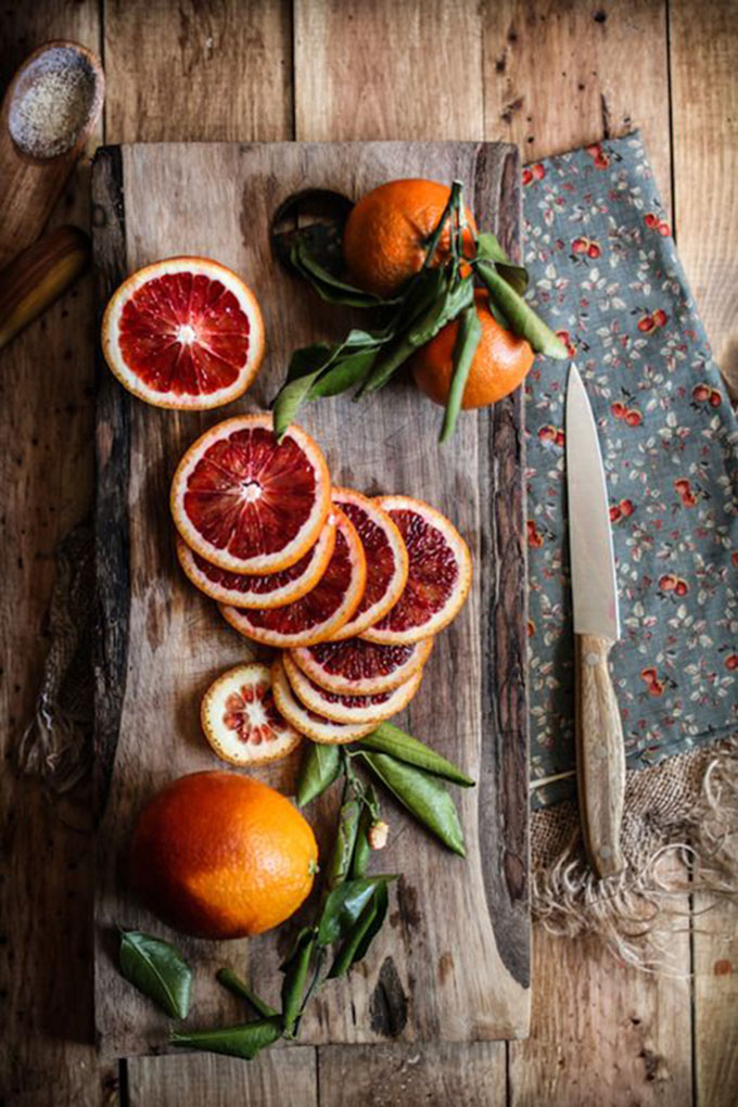 StyleChile | Weekend Inspiration - Blood Orange