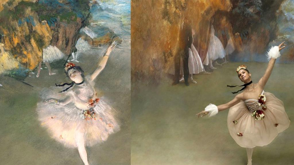 Misty Copeland + Degas | StyleChile