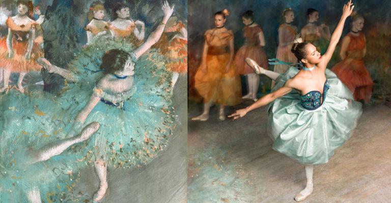 Misty Copeland + Degas | StyleChile 4